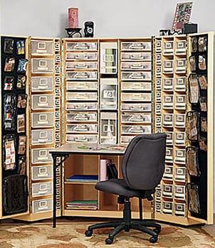 How To Organize Scrapbooking Supplies