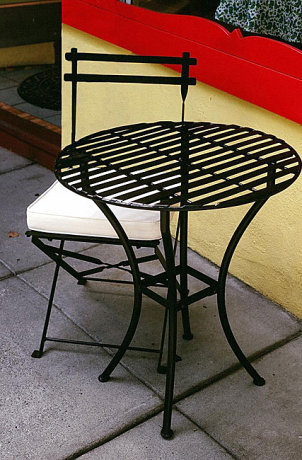 How to Clean Wrought-Iron Patio Furniture