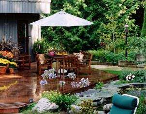 How to Place Outdoor Furniture in the Garden