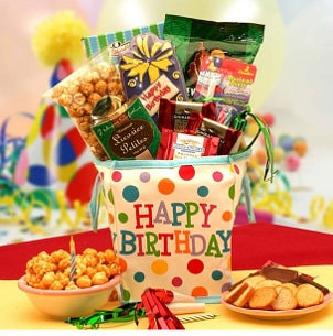 When to Send a Food Gift Basket to a Friend
