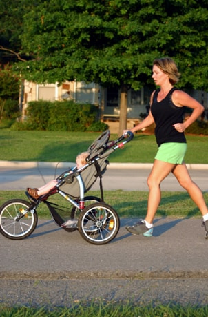 Tips for Running with Jogging Strollers