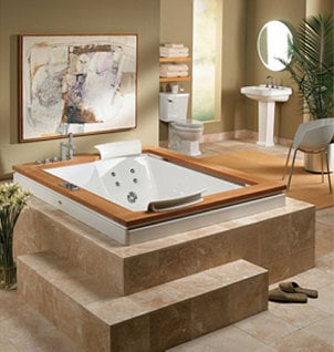 how to install jacuzzi bathtubs in the 1950s the jacuzzi
