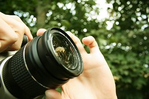 How to Use a Digital SLR Camera