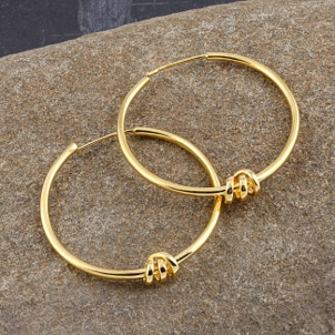 Top 5 Unique Gold Hoop Earrings
