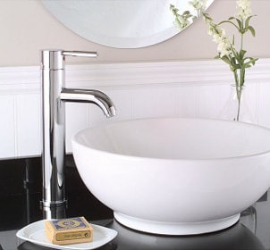 Matching a Vessel Sink to Your Bathroom