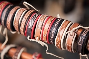 Timeless Men's Leather Jewelry Styles
