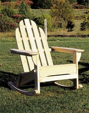 Fact Sheet on Rocking Chairs