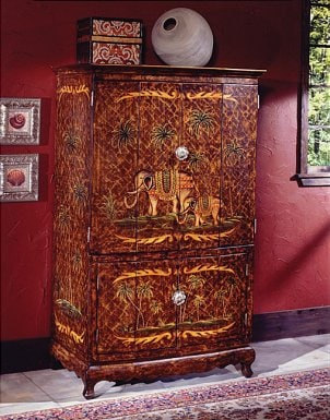 Tips on Decorating your TV Armoire