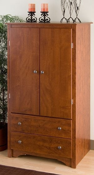 How to Maintain Hinges on a 2-drawer Armoire