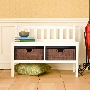 How to Use a Storage Bench