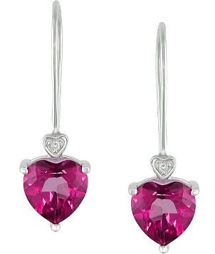 Top 5 Charming Sapphire Pink Earrings