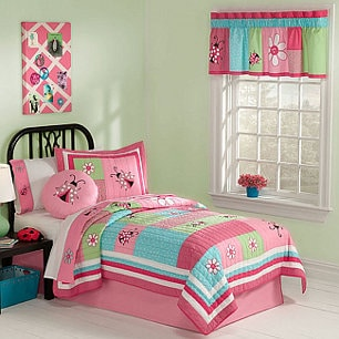 5 Girls' Bedding Ideas