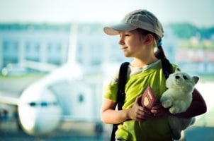 Using a Kids' Backpack as Kids' Luggage