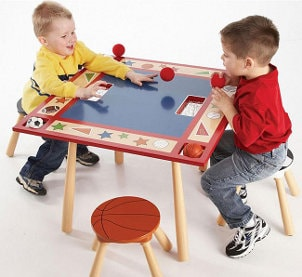 Popular Features for a Kids' Table