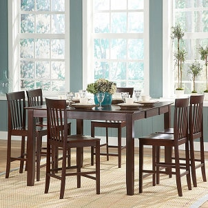buying a complete dining room dining room bar furniture overstockcom buy dining sets buy dining room chairs