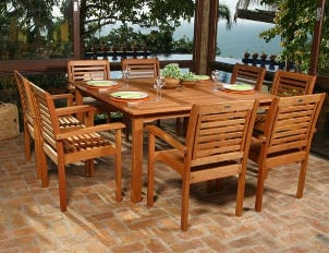 Caring for Wooden Garden Furniture