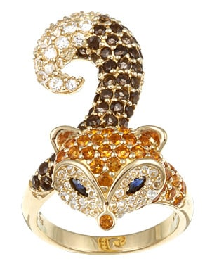 Best Citrine Fashion Rings