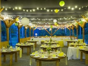 Best Garden Lighting for an Outdoor Wedding