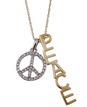 How to Wear Peace Sign Pendants