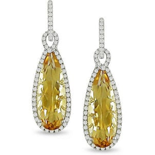 Top 5 Ways to Wear Citrine Chandelier Earrings