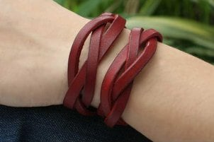 New Trends in Braided Leather Bracelets