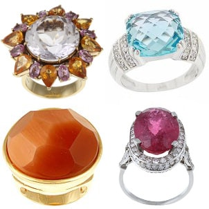 How to Invest in a Gemstone Cocktail Ring