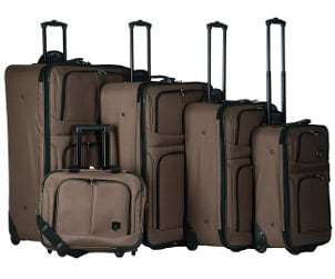 Advantages of a 5-piece Expandable Luggage Set