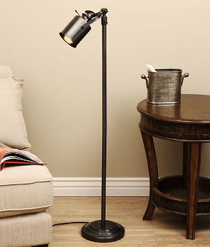 how to create a reading nook with floor lamps. Black Bedroom Furniture Sets. Home Design Ideas
