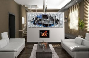 How to Decorate with Oversized Art