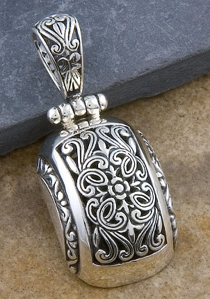 How to Care for Silver Pendants