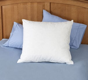 How to Decorate with Euro Pillows