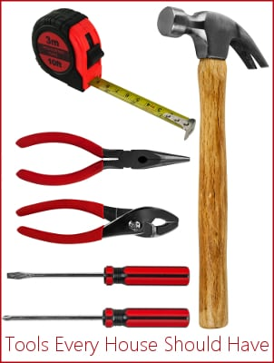 Top 10 Tools Every House Should Have