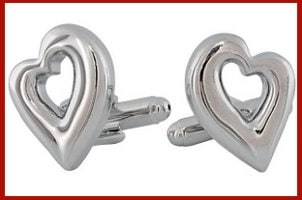 Top 5 Cufflinks to Give for Valentine's Day