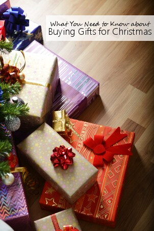 Buying Gifts for Christmas