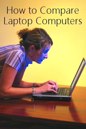 How to Compare Laptop Computers