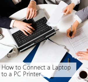 How to Connect a Laptop to a PC Printer