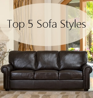 Top 5 Sofa Styles