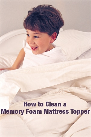 How to Clean a Memory Foam Mattress Topper
