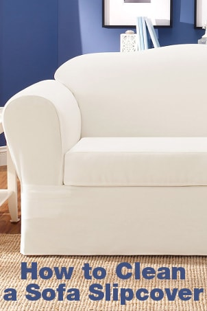 How to Clean a Sofa Slipcover