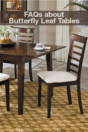 FAQs about Butterfly Leaf Tables