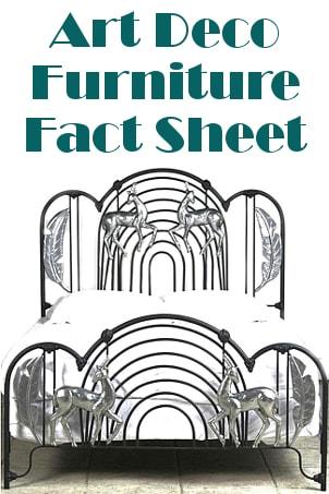 Art Deco Furniture Fact Sheet