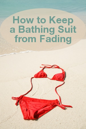 How To Keep a Bathing Suit from Fading