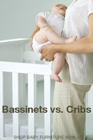 Bassinets vs Cribs