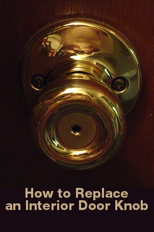 How to Replace an Interior Door Knob
