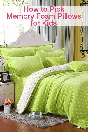 How to Pick Memory Foam Pillows for Kids