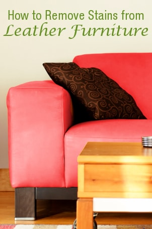 How to Remove Stains from Leather Furniture