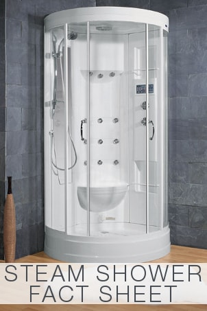 Steam Shower Fact Sheet