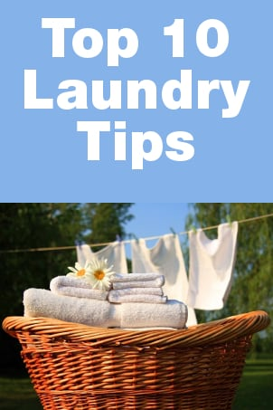 Top 10 Laundry Tips