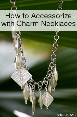 How to Accessorize with Charm Necklaces