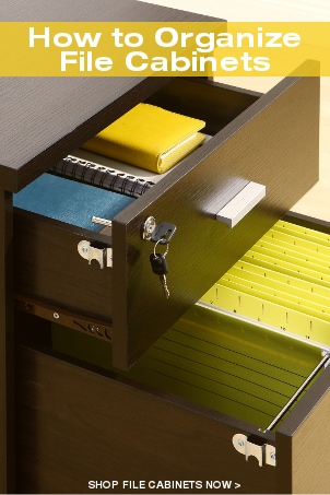 How to Organize File Cabinets
